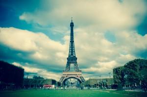 Эйфелева башня на Марсовом поле, Париж